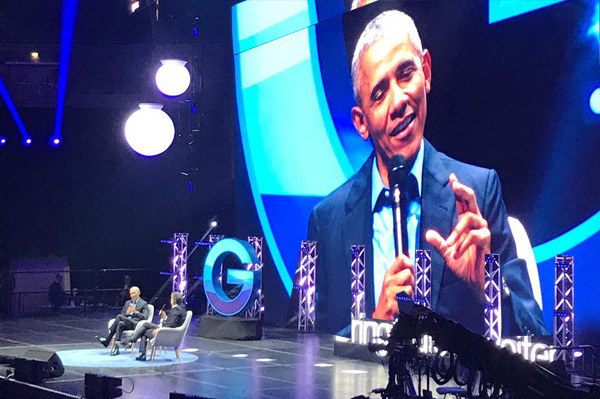 World Leadership Summit Conference with President Obama