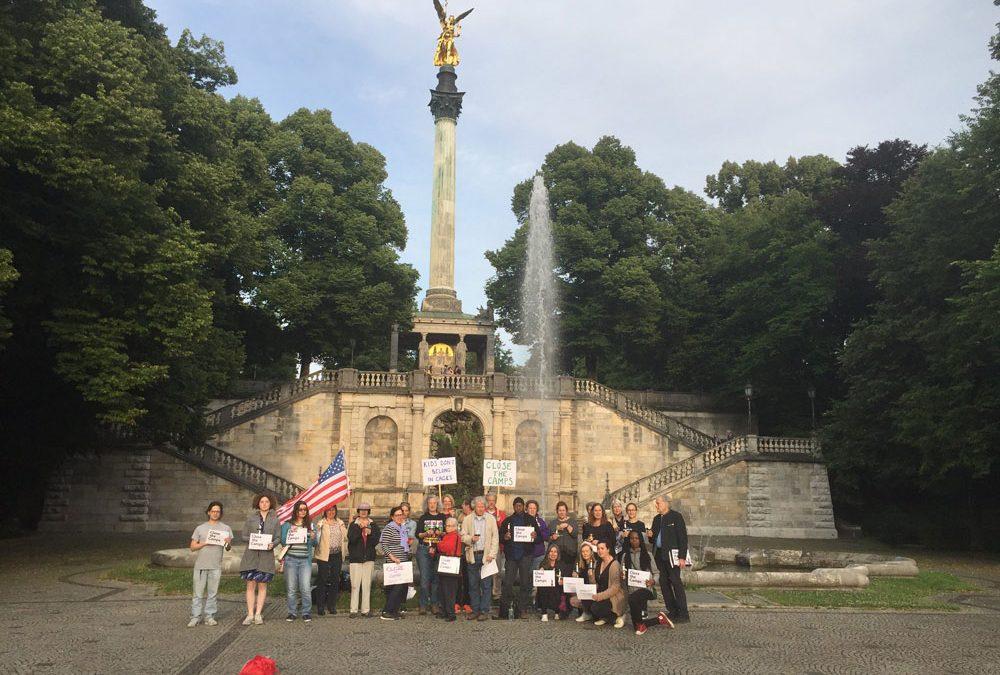 Münchner Mahnwache – Lichter für den Frieden