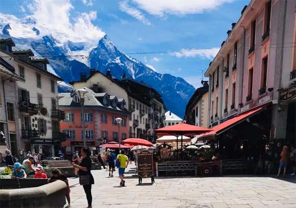 Chamonix-MontBlanc, the highest Mountain in Western Europe