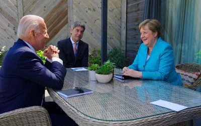 2021 G7 SUMMIT IN CORNWALL: THE US IS BACK