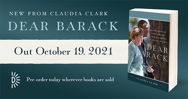 Dear Barack, out October 19, 2021